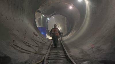 The MTA's East Side Access Project poster image