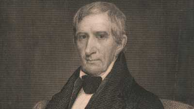 William Henry Harrison poster image