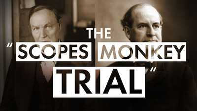 """The """"Scopes Monkey Trial"""" poster image"""