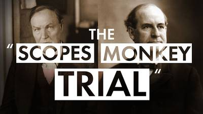 "The ""Scopes Monkey Trial"" poster image"