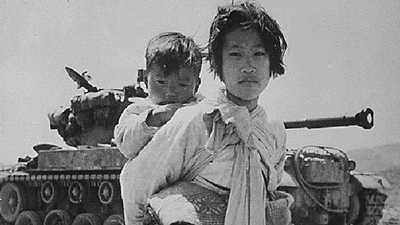The Korean War poster image