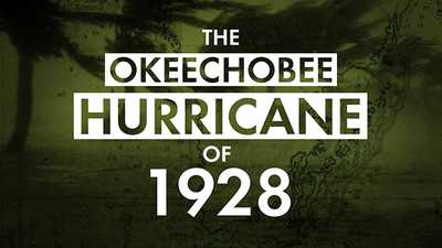 The Okeechobee Hurricane of 1928 poster image