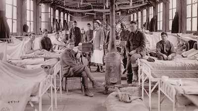 American Nurses in World WarI poster image