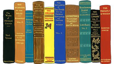 TR's Bookshelf poster image canonical_images/feature/TheodoreRoosevelt-IdealBookshelf_canonical XXX