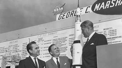Wernher von Braun's Record on Civil Rights poster image