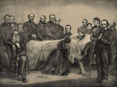 Lincoln's Deathbed poster image