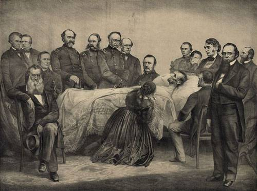 Lincoln's Deathbed