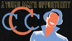 Civilian Conservation Corps poster image