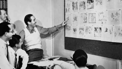 Working for Walt Disney poster image