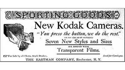 Early Eastman Kodak Ads poster image