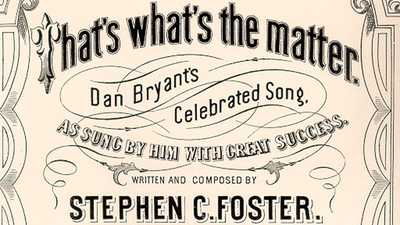 The Music of Stephen Foster poster image