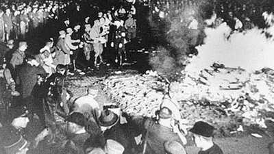 Book Burnings in Germany, 1933 poster image