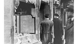 "Kristallnacht, Germany's ""Night of Broken Glass"" poster image"