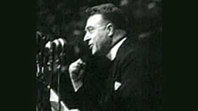 Reverend Charles E. Coughlin (1891-1979) poster image