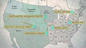 Map: Forced Migrations poster image