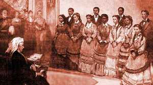 Timeline of the Jubilee Singers poster image