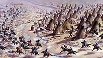 Native Americans and the Transcontinental Railroad poster image