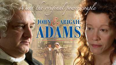 John and Abigail Adams poster image