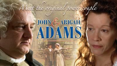 John and Abigail Adams poster image