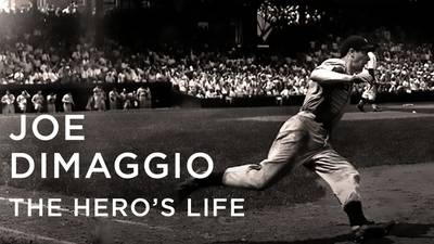 Joe Dimaggio: The Hero's Life poster image