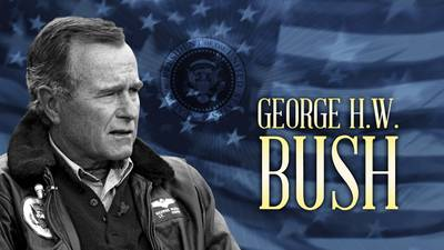 Now Streaming | George H.W. Bush poster image