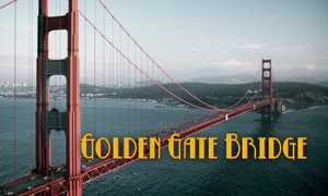 Golden Gate Bridge poster image