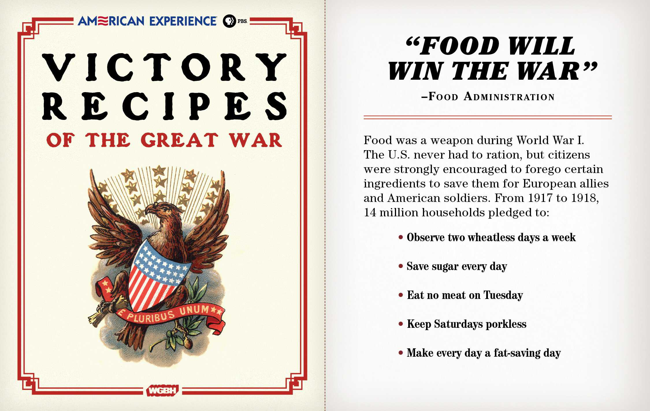 Victory recipes of the great war american experience official victory recipes of the great war forumfinder Choice Image