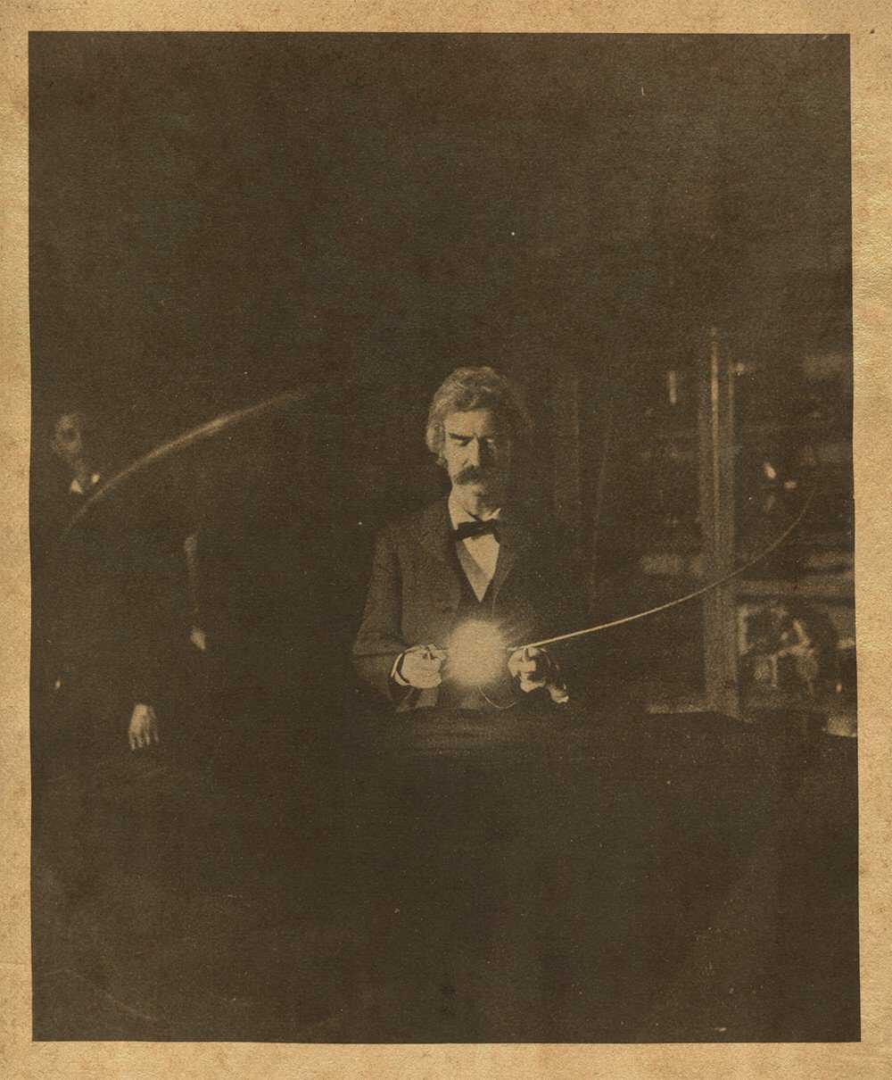 tesla s dinner party american experience official site pbs mark twain was keenly interested in new technologies and ed tesla s laboratory to see the inventor s latest experiments photo tesla science center at