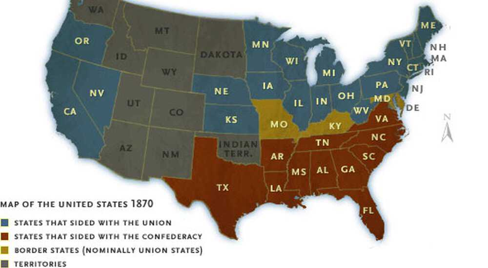 Map States Of America.State By State American Experience Official Site Pbs