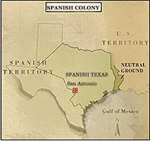 Map Of Texas During The Alamo.States Of Texas American Experience Official Site Pbs