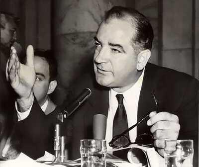 Image result for senator joseph mccarthy