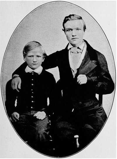 Carnegie-16-and-bro-James-image-PD.jpg