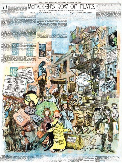 The Yellow Kid by Richard Outcault