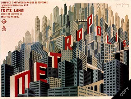 Metropolis is THE sci-fi film every thoughtful socialist should watch, though its ultimate conclusion can be described as fascist.