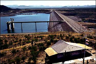 Image of an Embankment Dam