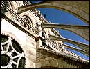 Image of Flying Buttresses on a Gothic Cathedral