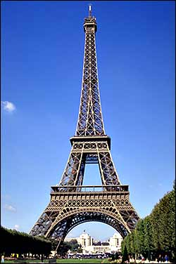 Picture  Eiffel Tower on Eiffel Tower Paris France