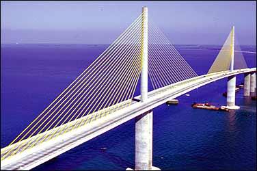 BUILDING BIG: Databank: Sunshine Skyway Bridge