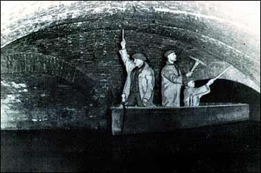 Building Big Databank Underground Canal