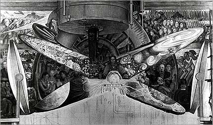 Culture shock flashpoints visual arts diego rivera 39 s for Diego rivera lenin mural