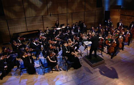 New England Conservatory Youth Philharmonic Orchestra