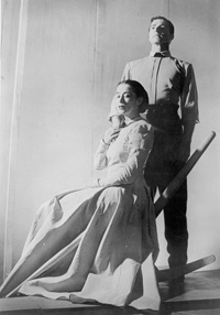 Martha Graham and Erick Hawkins