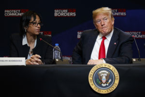 Amid Crime Drop, Trump Calls to Toughen Immigration Laws