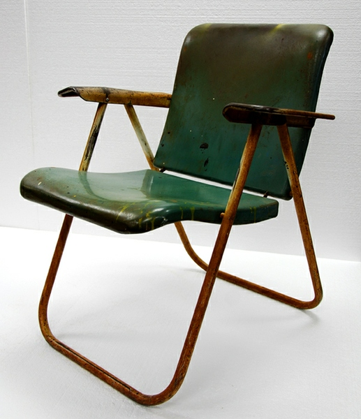 wright folding chair