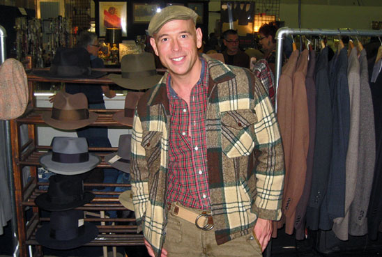 MARKET WARRIORS Bob Richter wearing a green cap and plaid green jacket