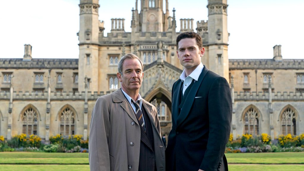 Robson Green and Tom Brittney in Grantchester, Season 5