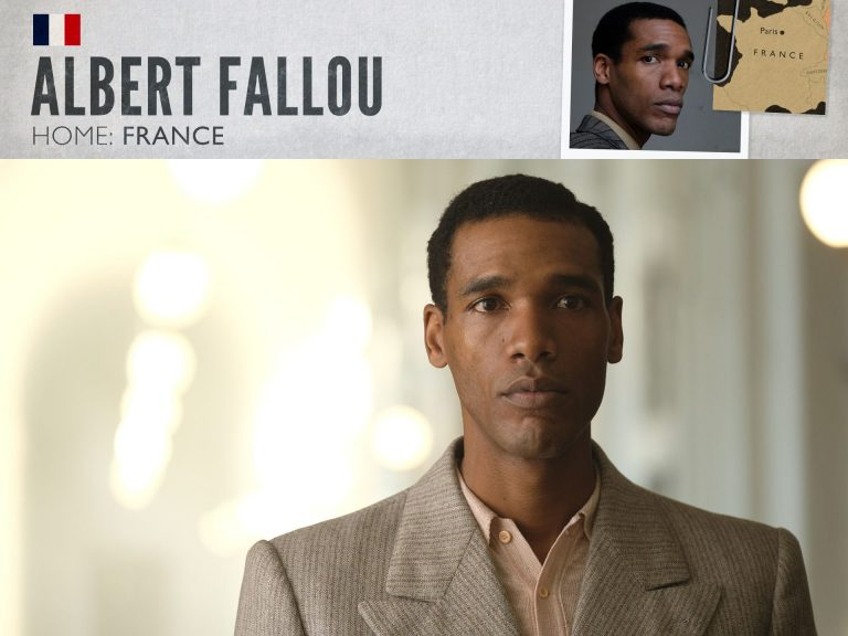 Parker Sawyers as Albert Fallou in World on Fire