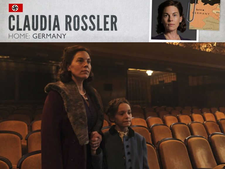 Victoria Mayer as Claudia Rossler in World on Fire