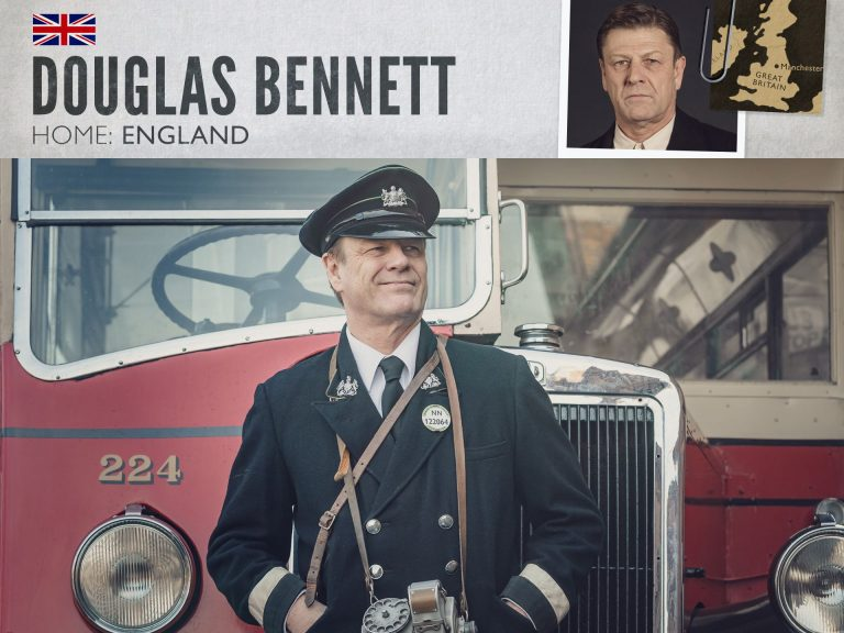 Sean Bean as Douglas Bennett in World on Fire