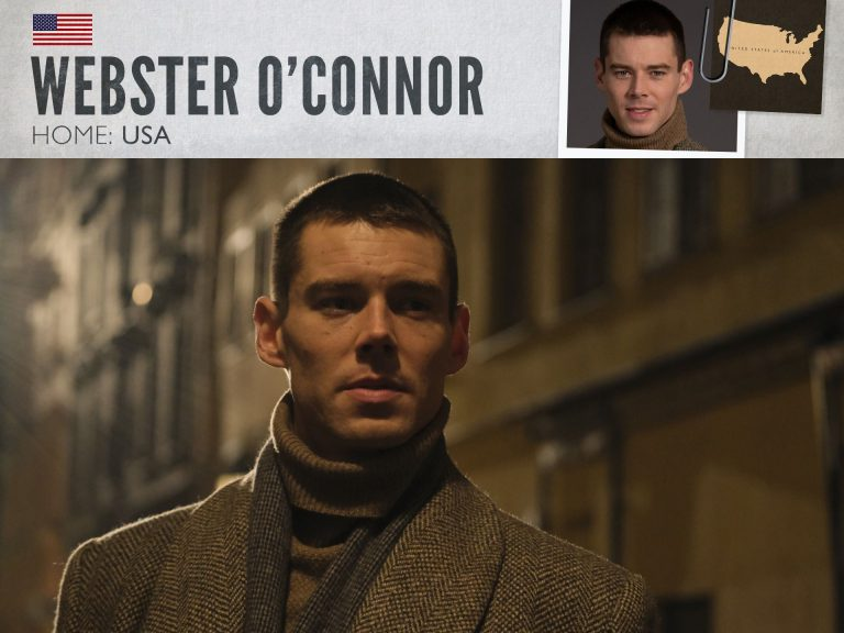 Brian J. Smith as Webster O'Connor in World on Fire